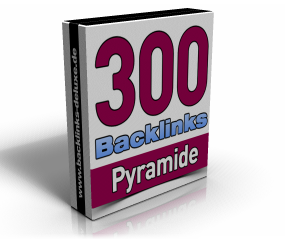 300 Backlinks Pyramide
